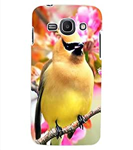 ColourCraft Bird with Flowers Design Back Case Cover for SAMSUNG GALAXY ACE 3 LTE S727