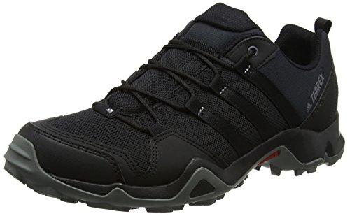 adidas Terrex Ax2r, Zapatos de Senderismo Hombre, Negro (Negbas/Negbas/Grivis), 42 2/3 EU