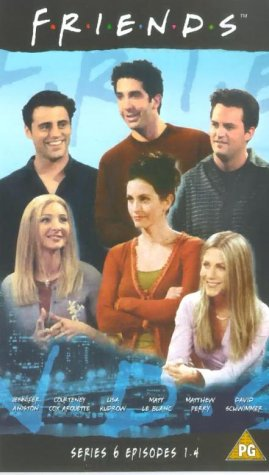 Click for larger image of Friends - Series 6 - Episodes 1-4 [VHS]