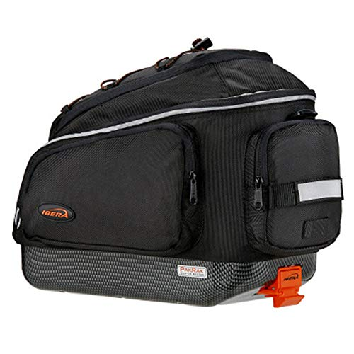 KIKIRon-BFB Fahrrad-Aufbewahrungstasche Bike Pannier Bag, tragbare Fahrradrahmen Hard Shell Aufbewahrungskoffer Cover Bike Rack Fahrradreparatur-Werkzeuge Pocket Pack -