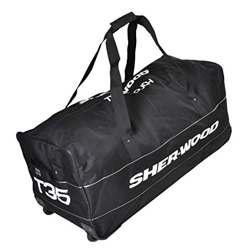 SHER-WOOD True Touch T35 Wheelbag Schwarz