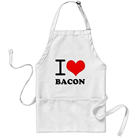 whiangfsoo i love bacon grembiule per