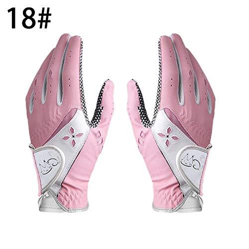 zezego Golfhandschul für Damen Anti-Rutsch-Handschuhe für Damen aus PU-Gewebe