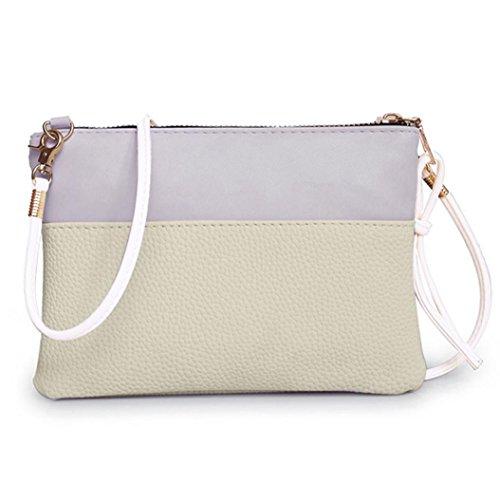 Fashion Tote (Damenhandtaschen Ronamick Frau Fashion Handtasche Schultertasche Große Tote Damen Geldbörse (Beige))