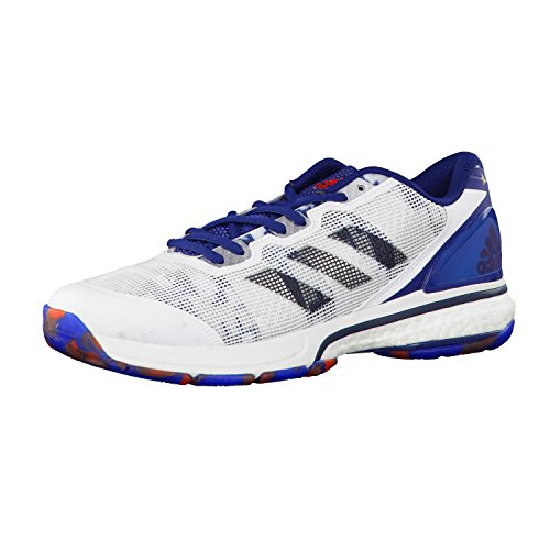 adidas adidas Herren Handballschuhe stabil boost 20Y ftwr white/utility black f16/mystery blue s17 37 1/3