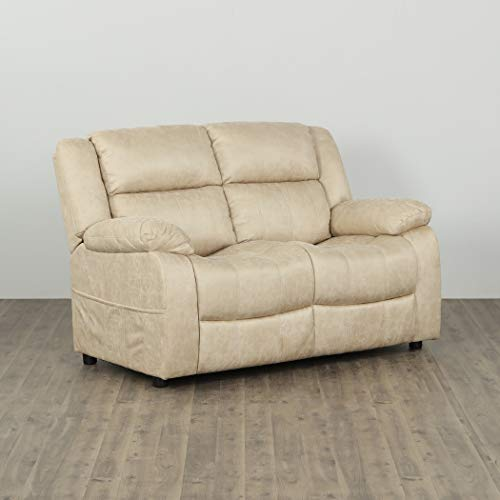 Home Centre Denver Two Seater Loveseat - Ivory