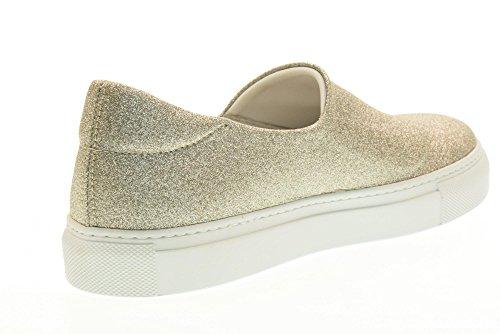 FRAU scarpe donna sneakers basse senza lacci 40J0 PLATINO Platino