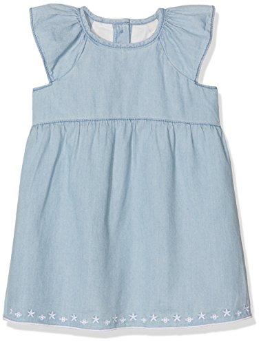 ESPRIT Baby-Mädchen Kleid Florina, Blau (Chambray), 62