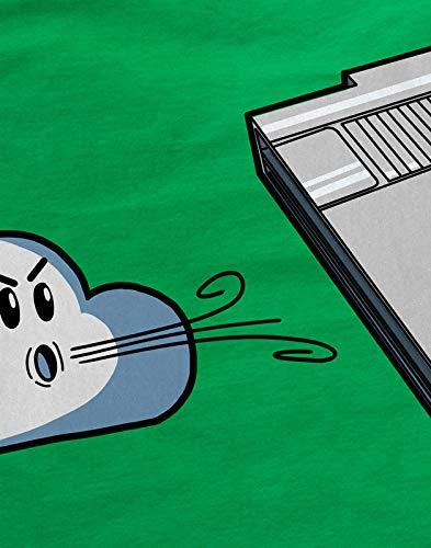 style3 Retro Blow Herren T-Shirt NES Cartridge, Größe:XXXL, Farbe:Grün