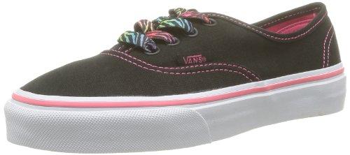Vans K Authentic Sneakers, Infantile Nero (Zebra Lace Bl)