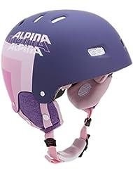 Alpina Skihelm Park Pro, Casco De Esquí Unisex, Morado, 54-59 Cm