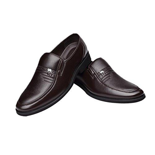 Abbigliamento Casual Comodità Uomini Affari Scarpe Pelle Da Brown Papà 5BBFq