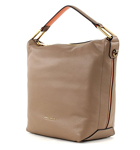 COCCINELLE LIYA SHOULDER BAG YA0130101 Taupe (Marrone)