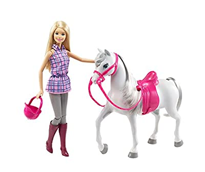 Barbie and Her Saddled Horse DHB 68