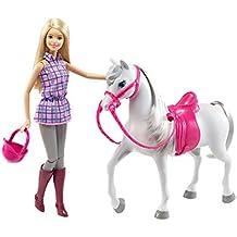 Mattel Barbie DGW23 - Barbie e il suo cavallo