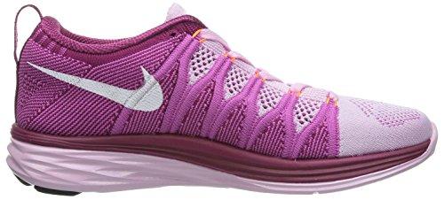 Nike 620465 011 Flyknit Lunar2 Herren Sportschuhe - Running Pink