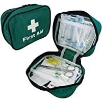 Safety First Aid Group Sterile Foreign Travel Kit -Compact Belt Pouch