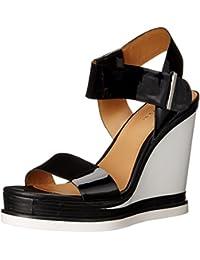 Calvin Klein de las mujeres sandalias de cuña de Padrina