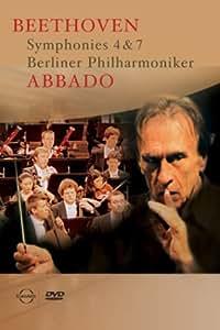 Abbado / Beethoven : Symphonies 4 & 7 [DVD] [Import]