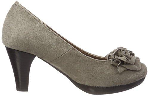 Andrea Conti 3000518, Fermé Toe Heel Chaussures Femme Braun (dunkeltaupe)