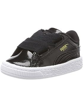 Puma Basket Heart Glam Inf, Zapatillas Unisex niños