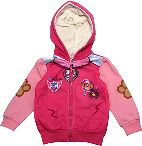 Paw Patrol Girls Pups Away Soft Hooded Jumper