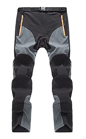 GITVIENAR Pantalon Étanche Hommes Été Pantalons Hydrofuge Coupe-vent à Séchage