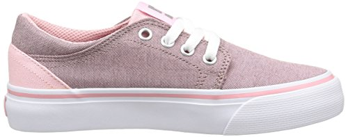 DC Shoes Trase Tx Se G Mädchen Sneaker Pink - Rose (Pink/White)