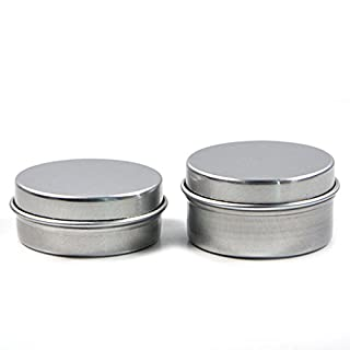 AngelakerryAmazon 20pcs x Aluminum Oil Concentrate Containers Dab Extracts Wax Lip Balm Jar Bottle Empty (10G)