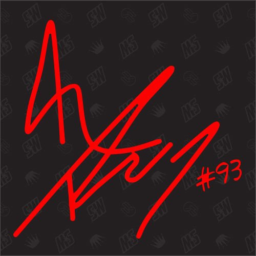 Marc Marquez Autogramm - Moto GP Sticker