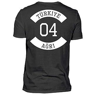 ALBASPIRIT Türkiye 04 Agri T-Shirt Ayyildiz Türkei Geschenk - Herren Shirt