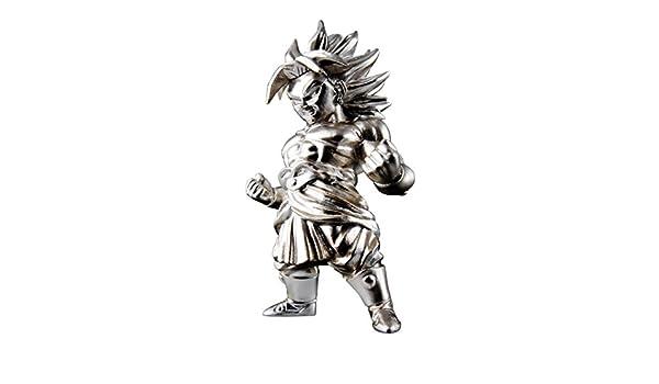 BANDAI Tamashii Dz-06 Super Saiyan 2 Broly Dragon Ball Z Absolute Chogokin Petite Statue en m/étal