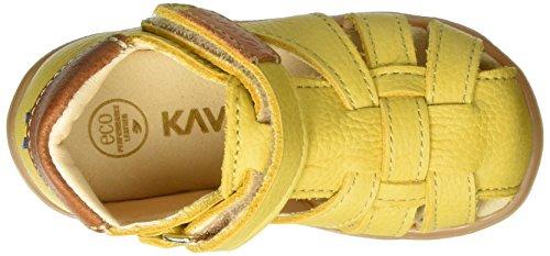 Kavat Rullsand Ep, Sandales premiers pas mixte bébé Gelb (Yellow)