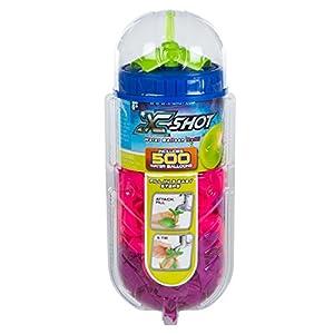 X-Shot - Cubo 500 globos de agua X-Shot con adaptador para grifo (42720)