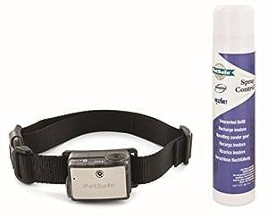 PetSafe - Collier Anti-Aboiements à Spray pour Gros Chien min.18 kg, Solution de Dressage Anti-Aboiement Efficace, Automatique, Robuste, Facile à Utiliser, à Pile, Imperméable, Ajustable / Grand Chien
