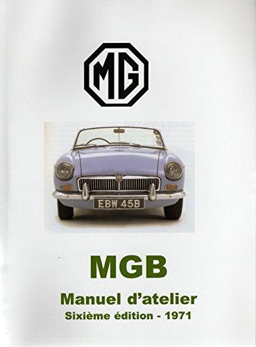 MGB Manuel d'atelier