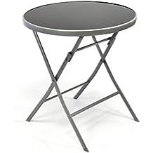 Gartentisch Rund Metall sdatec.com