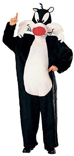 Generique - Sylvester-Kostüm aus Looney Tunes für Erwachsene Einheitsgröße