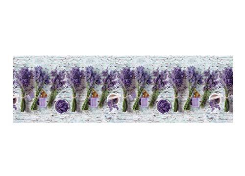 BIANCHERIAWEB Teppich mit Digitaldruck Rutschfest Linie Emotionen d. Lavendel by Suardi 58x115...