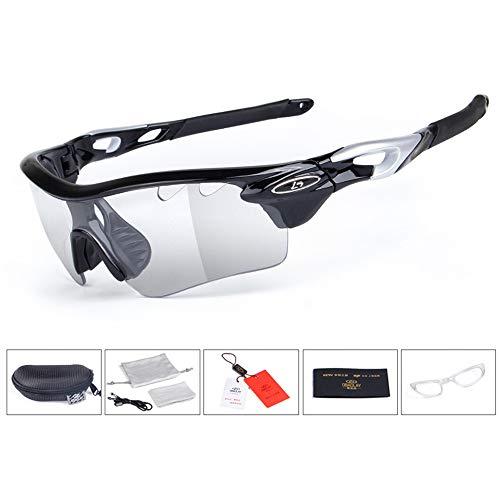 Aili Unisex Brille Mit UV-Schutz - Polarisierte Photochrome Sonnenbrille Schutzbrille Sportbrille...