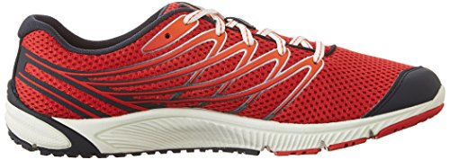 Merrell Bare Access 4, Chaussures de Running Compétition homme Rouge - Red (Blue/Red)