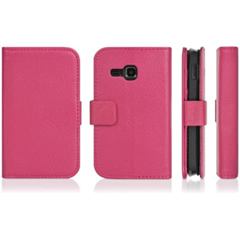 DONZO Wallet Structure Custodia per Samsung Star Deluxe DuoS S5292 rosa