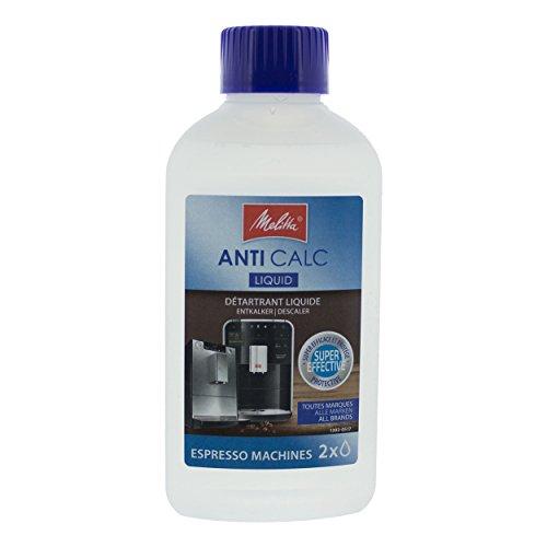 Melitta 204663 Anti Calc Flüssigentkalker | geeignet für alle Kaffeevollautomaten und...