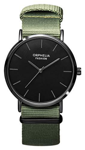 Orphelia Homme Analogique Quartz Montre avec Bracelet en Nylon OF761811