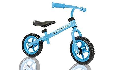 Kids Childrens Lightweight Metal Training Balance Bike (Blue)