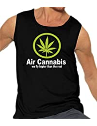 Air Cannabis - We fly higher than the rest Tank Top