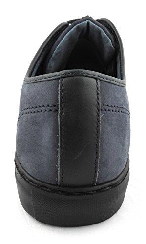 Zerimar Sportschuh Gefertigt mit Hochwertigem Leder Gummisohle Bequem und Leicht Sportliche Herrenschuhe Farbe Marineblau Marineblau
