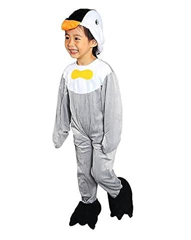 J13 Größe 92-98 Pinguin Kostüm für Kleinkinder und Kinder, Pinguinkostüm bequem über normale Kleidung zu (Karnevals-kostüm-ideen Für Mädchen)
