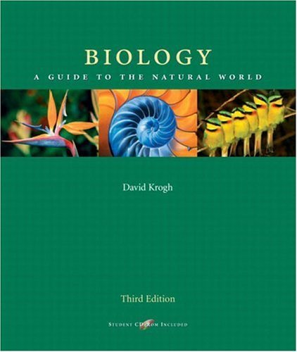 Biology: A Guide to the Natural World by David Krogh (2004-02-21)