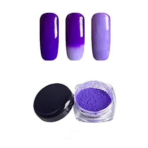 feiXIANG Pigment Thermochromique Gradient de température de poussière de poudre de poudre Déco Nail, Vernis à ongles Décorations et accessoires